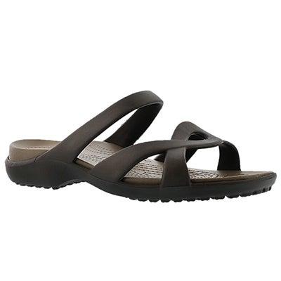 Crocs Sandales MELEEN TWIST, expresso, femmes
