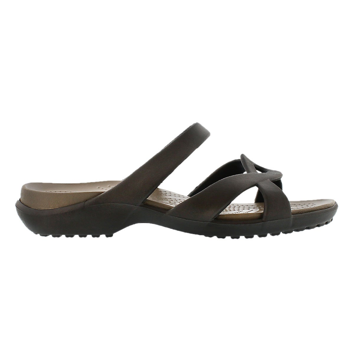 Lds Meleen Twist espresso casual sandal
