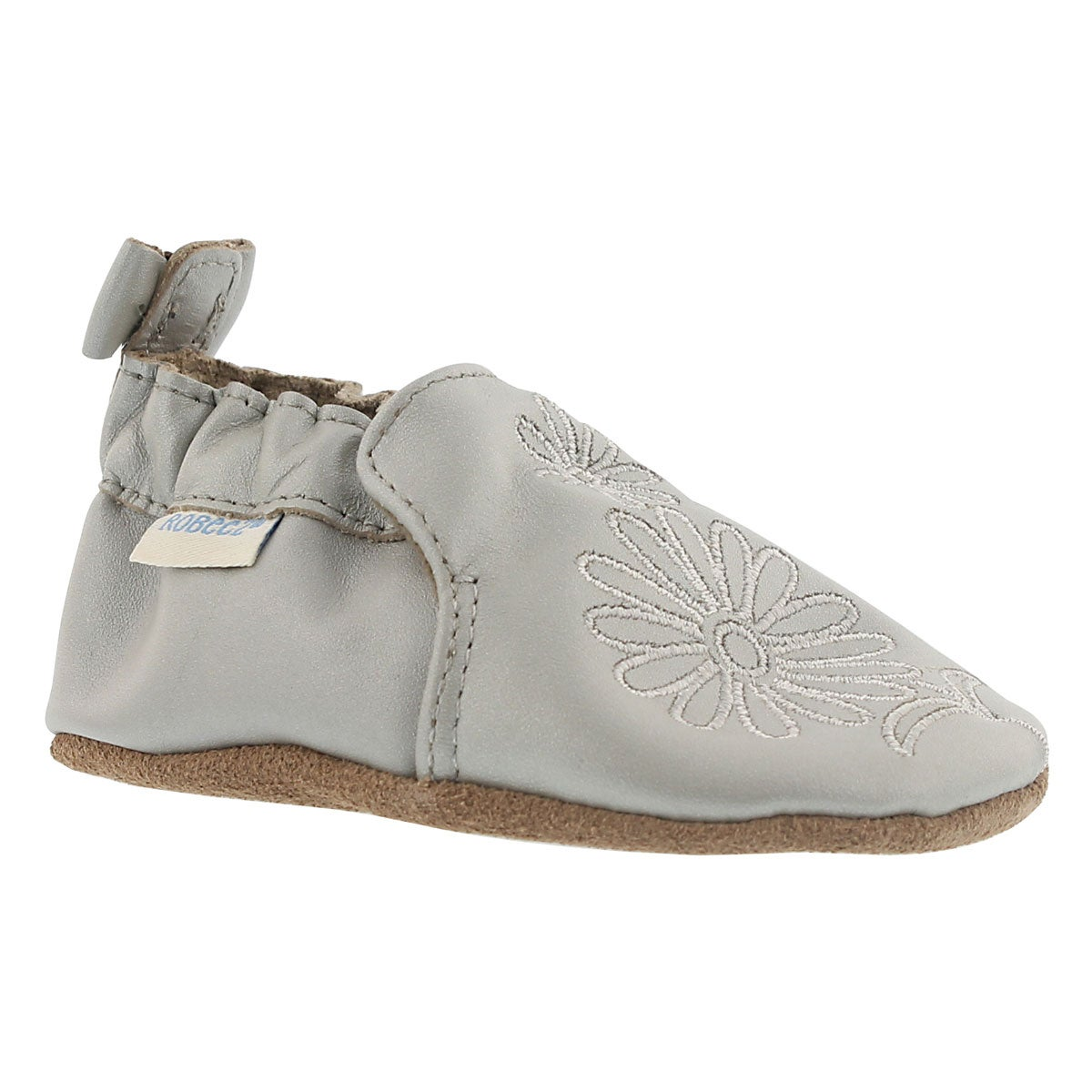 Inf Metallic Mist silver sole slipper