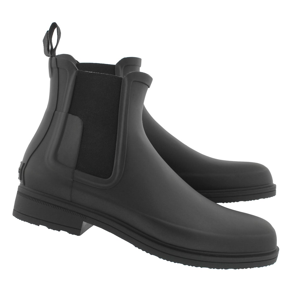 Mns OrgRefinedChelsea blk rainboot