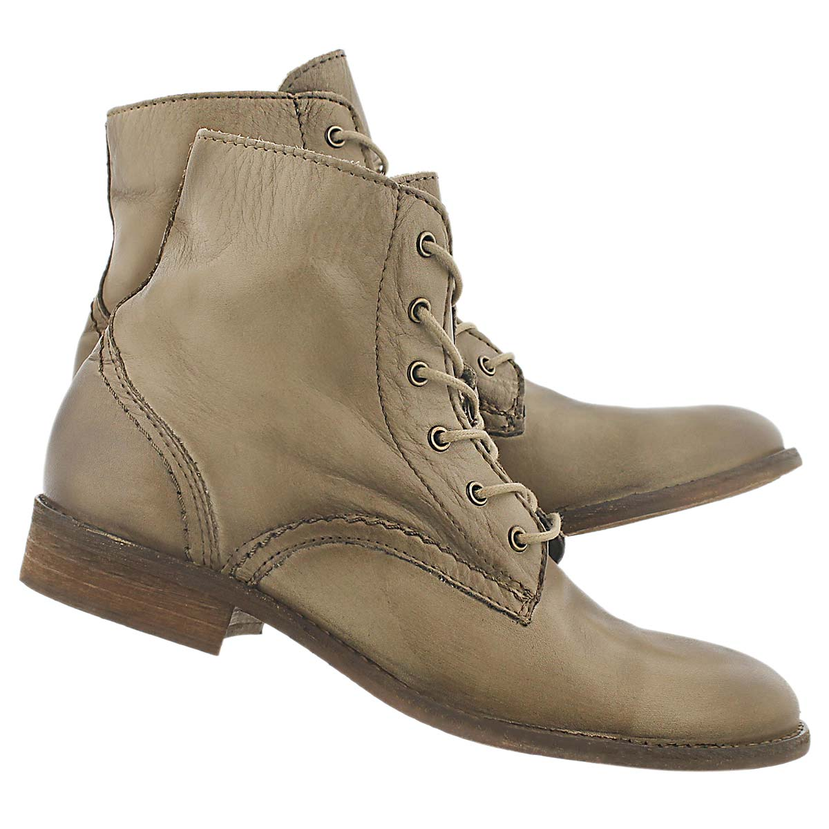 Lds Miami smoke lace up ankle boot