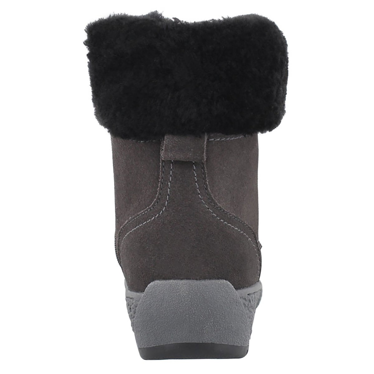 Lds Michelle gry wp shearling lined boot