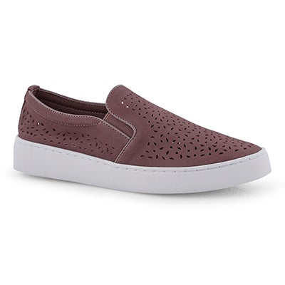 Lds Midi Perf dusk casual slip on shoe