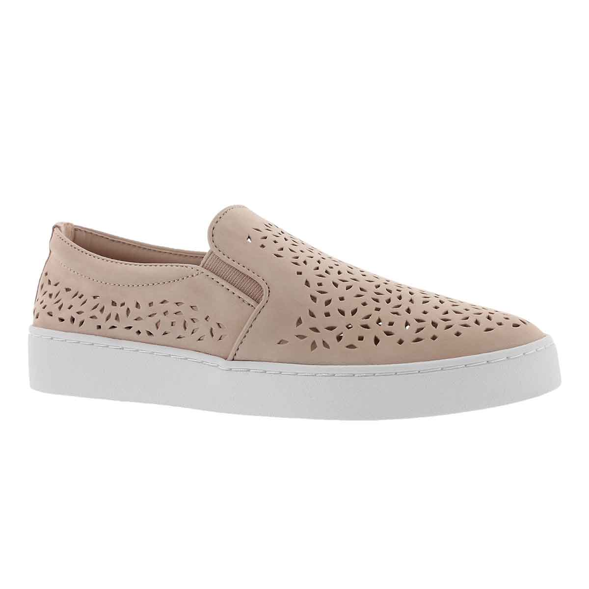 Women's MIDI PERF pink casual slip on shoes