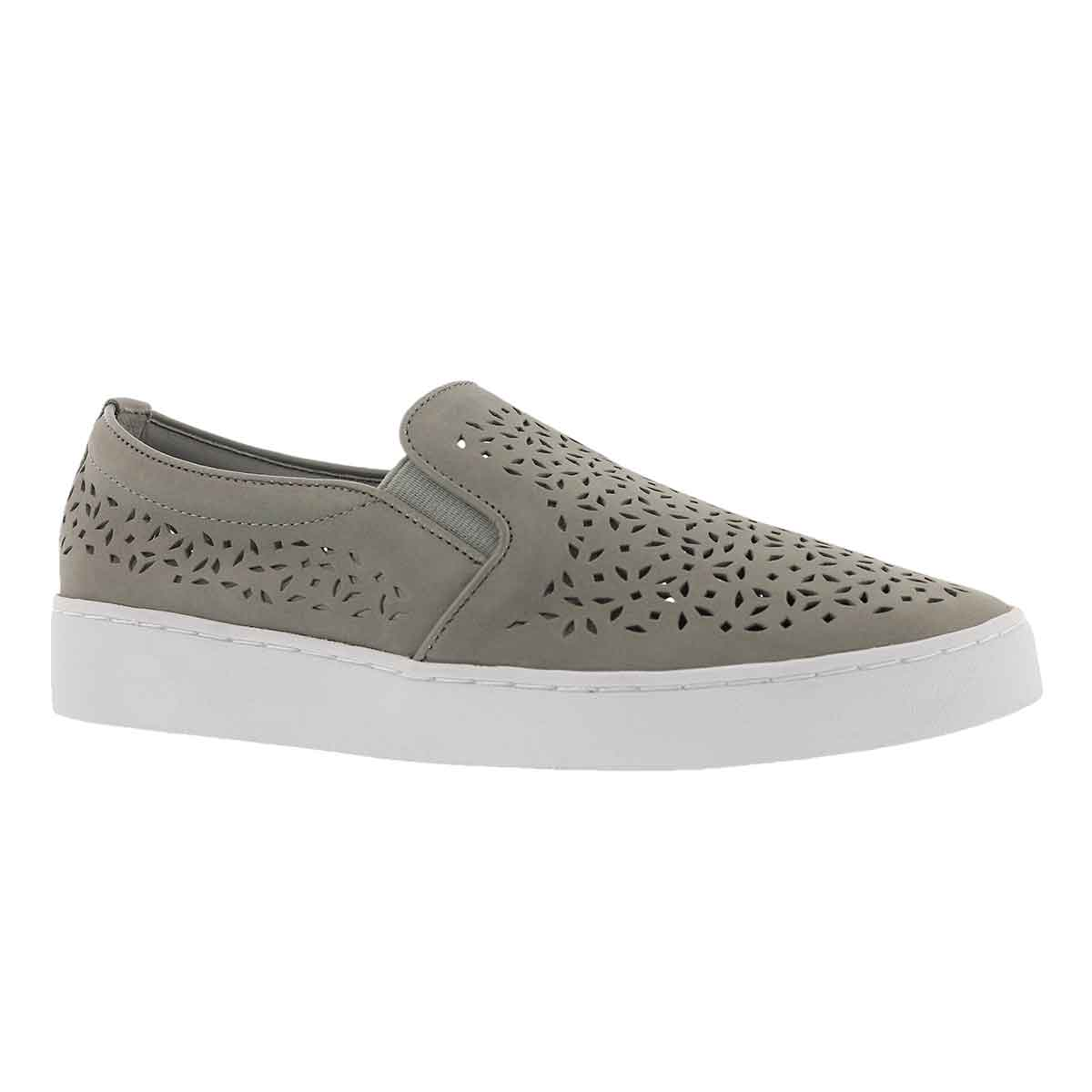 Women's MIDI PERF grey casual slip on shoes