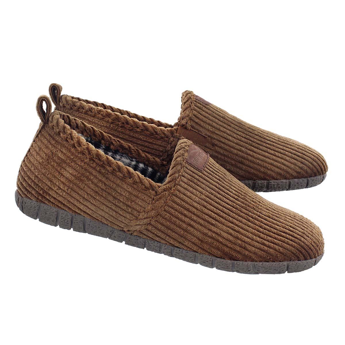 Mns Milton brown closed back slipper