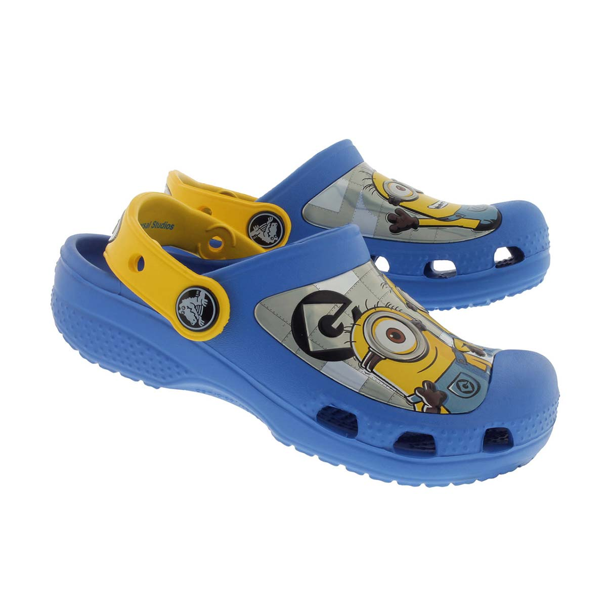 Chlds Minions blue/yellow comfort clog