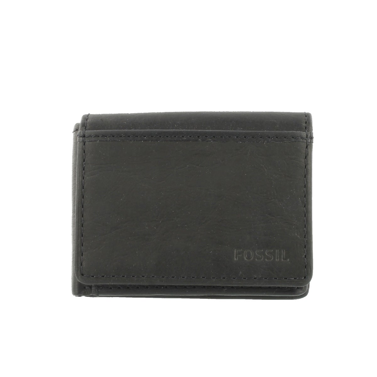 Mns Ingram Execufold blk leather wallet