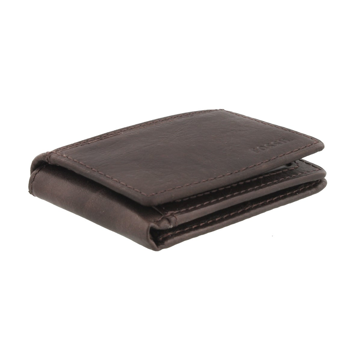 Mns Ingram Execufold brn leather wallet