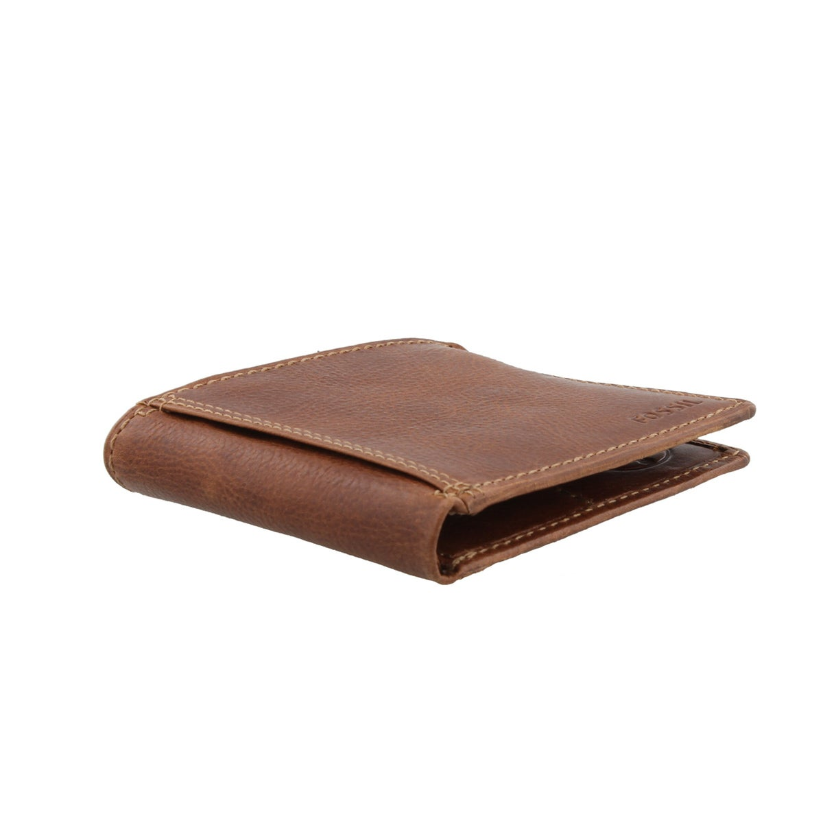 Mns Bradley Slim Bifold tan lthr wallet