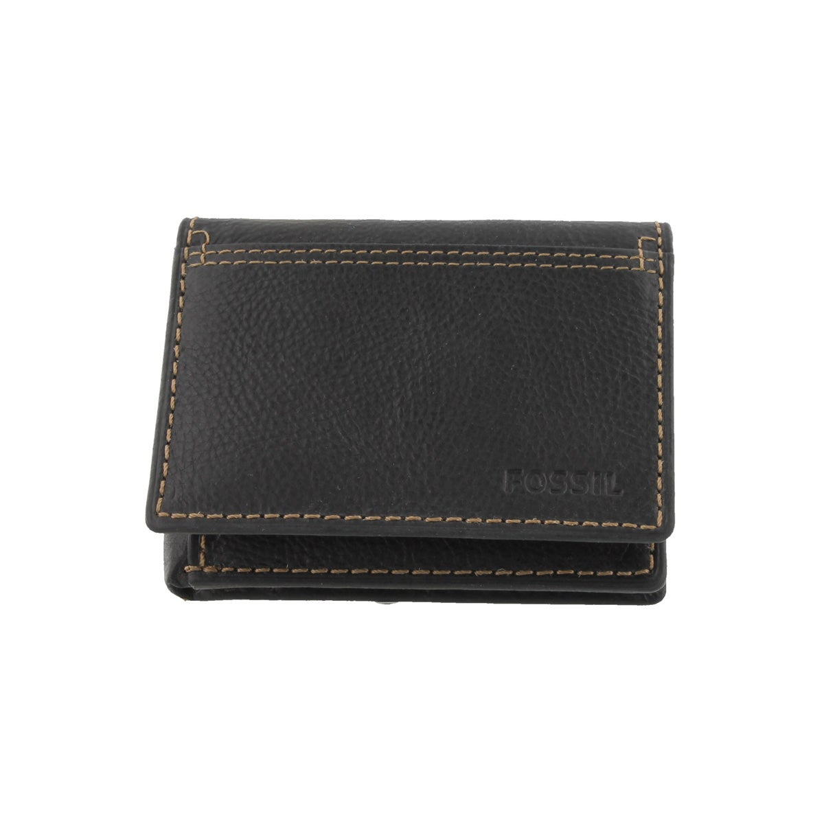 Mns Bradley Execufold blk leather wallet
