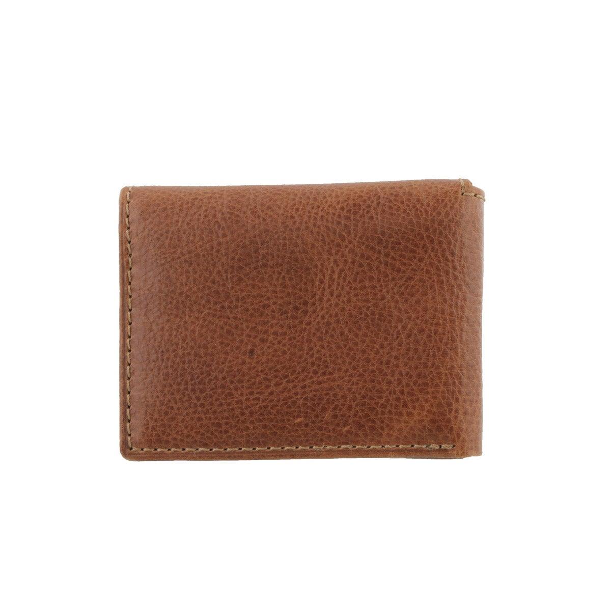 Mns Bradley Execufold tan leather wallet