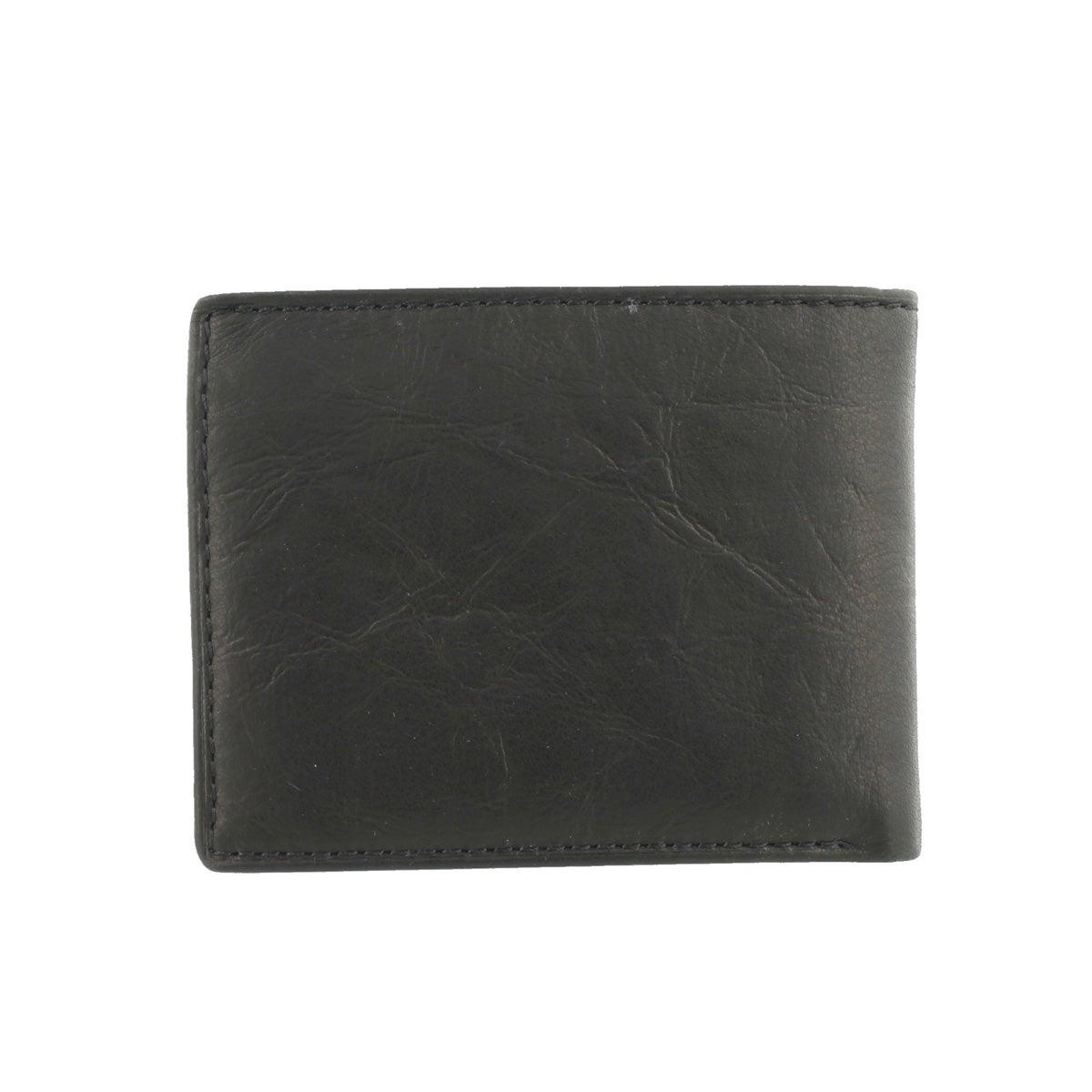 Mns Ingram Sliding 2in1 blk lthr wallet