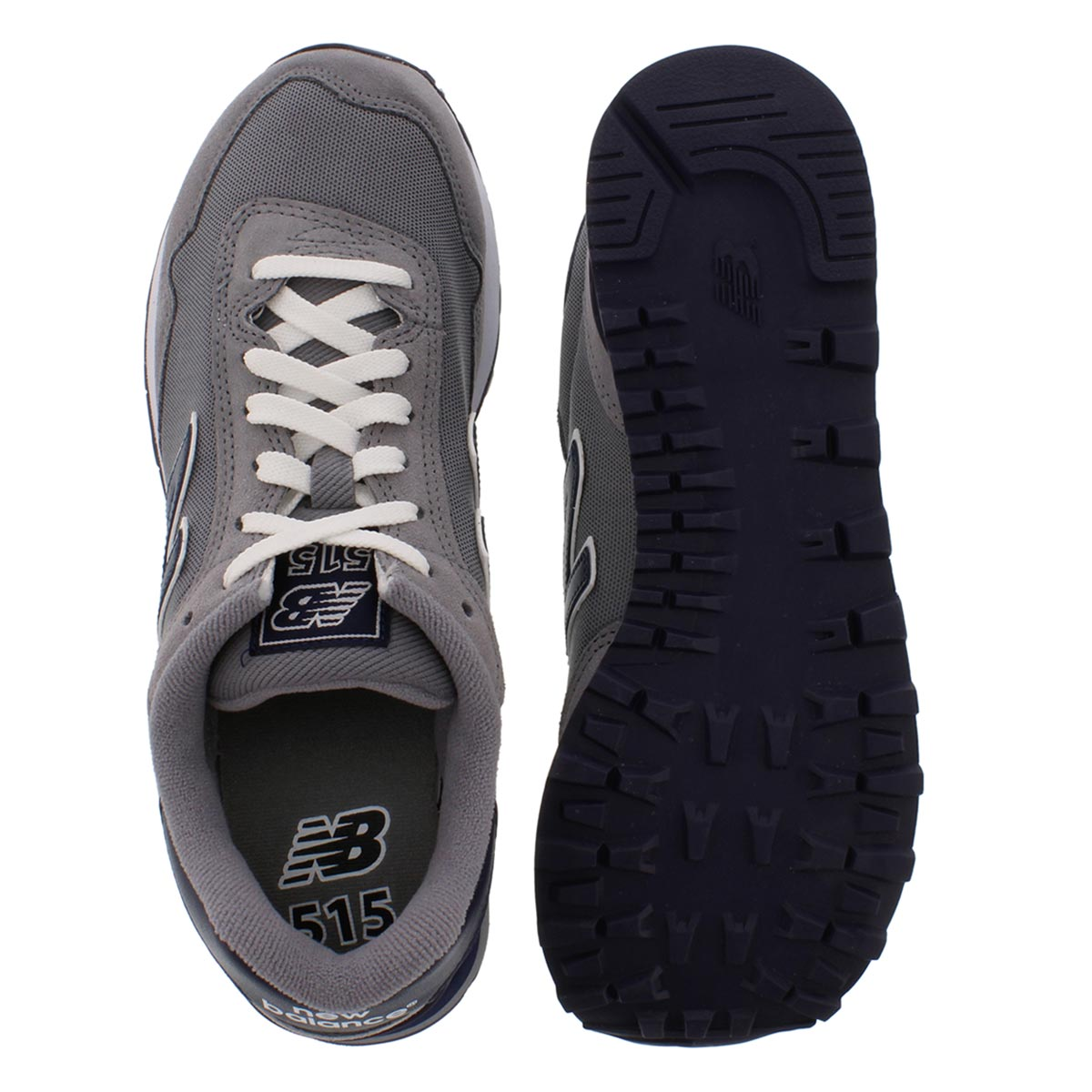 Mns 515 grey lace up sneaker