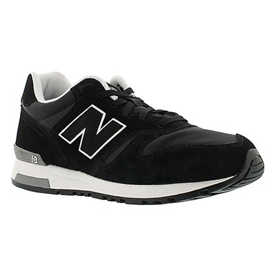 New Balance Men's 565 black lace up running shoes