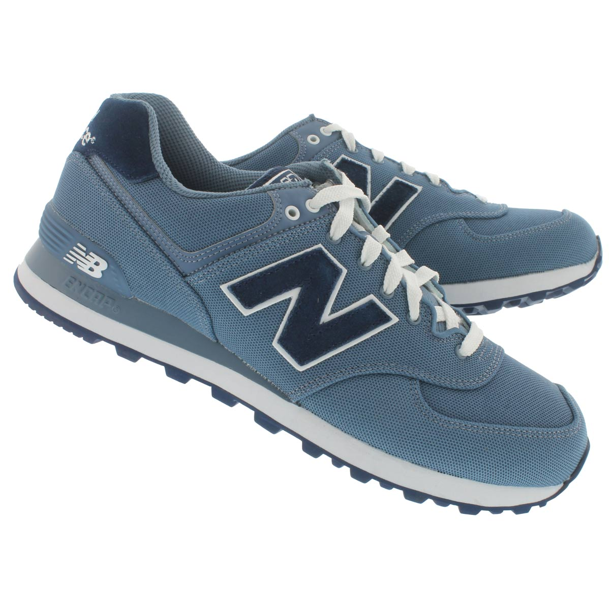 Mns 574 chambray lace up sneaker