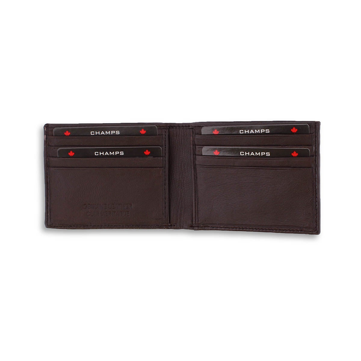 Mns brown sheep leather wallet