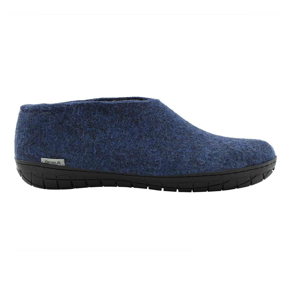 Mns Model AR denim closed back slippers