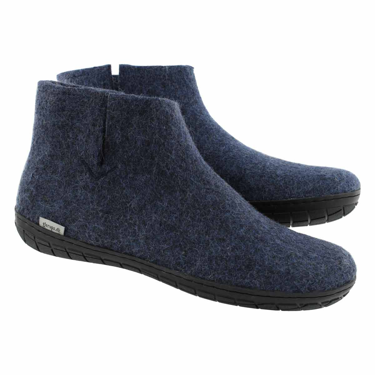 Mns Model GR denim slippers