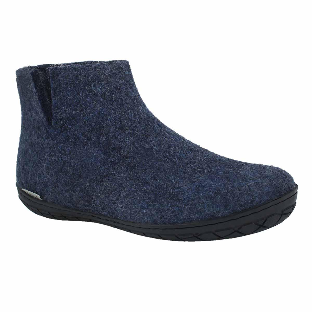 Lds Model GR denim slippers
