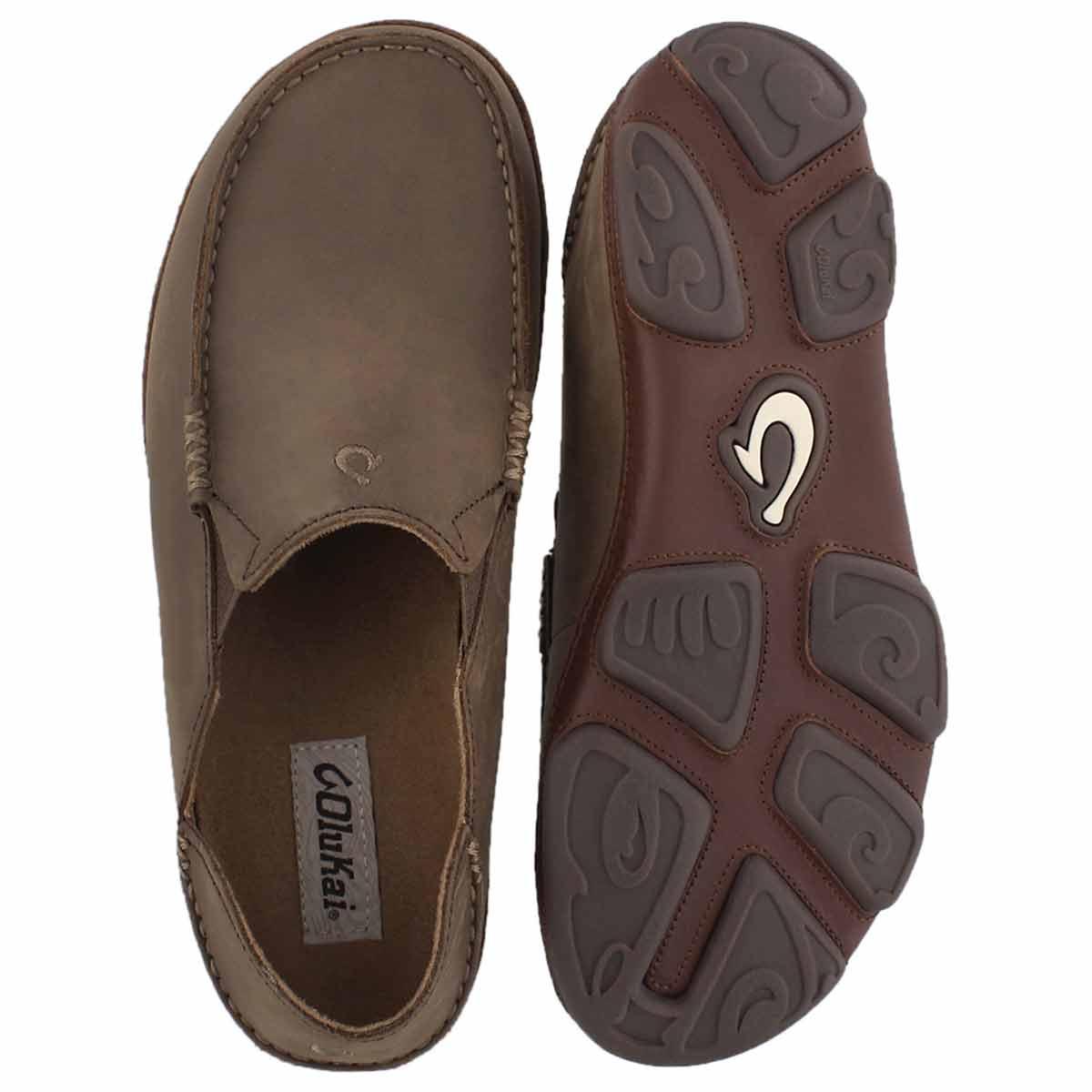 Mns Moloa toffee slip on casual shoe