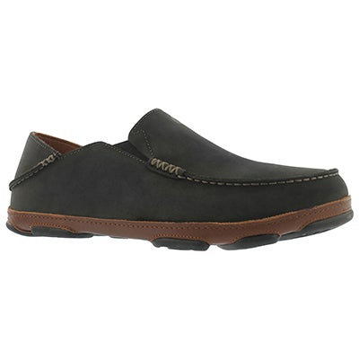 Mns Moloa black slip on casual shoe