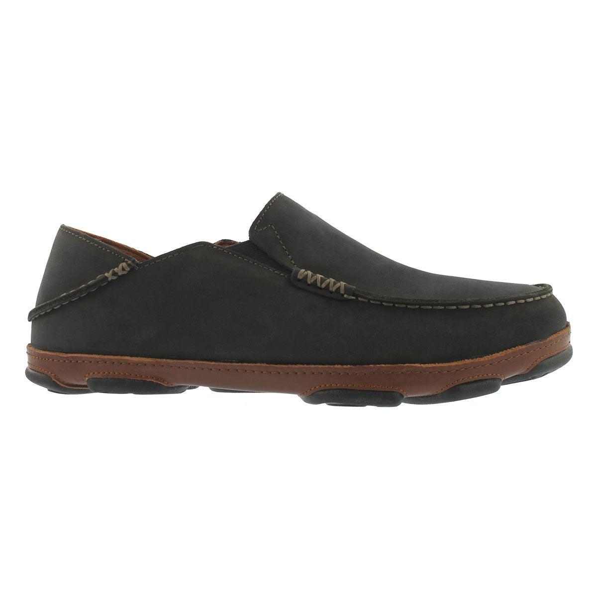 Mns Moloa black slip on casual shoe