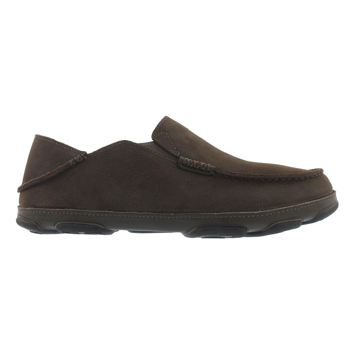 Mns Moloa seal brown slip on casual shoe