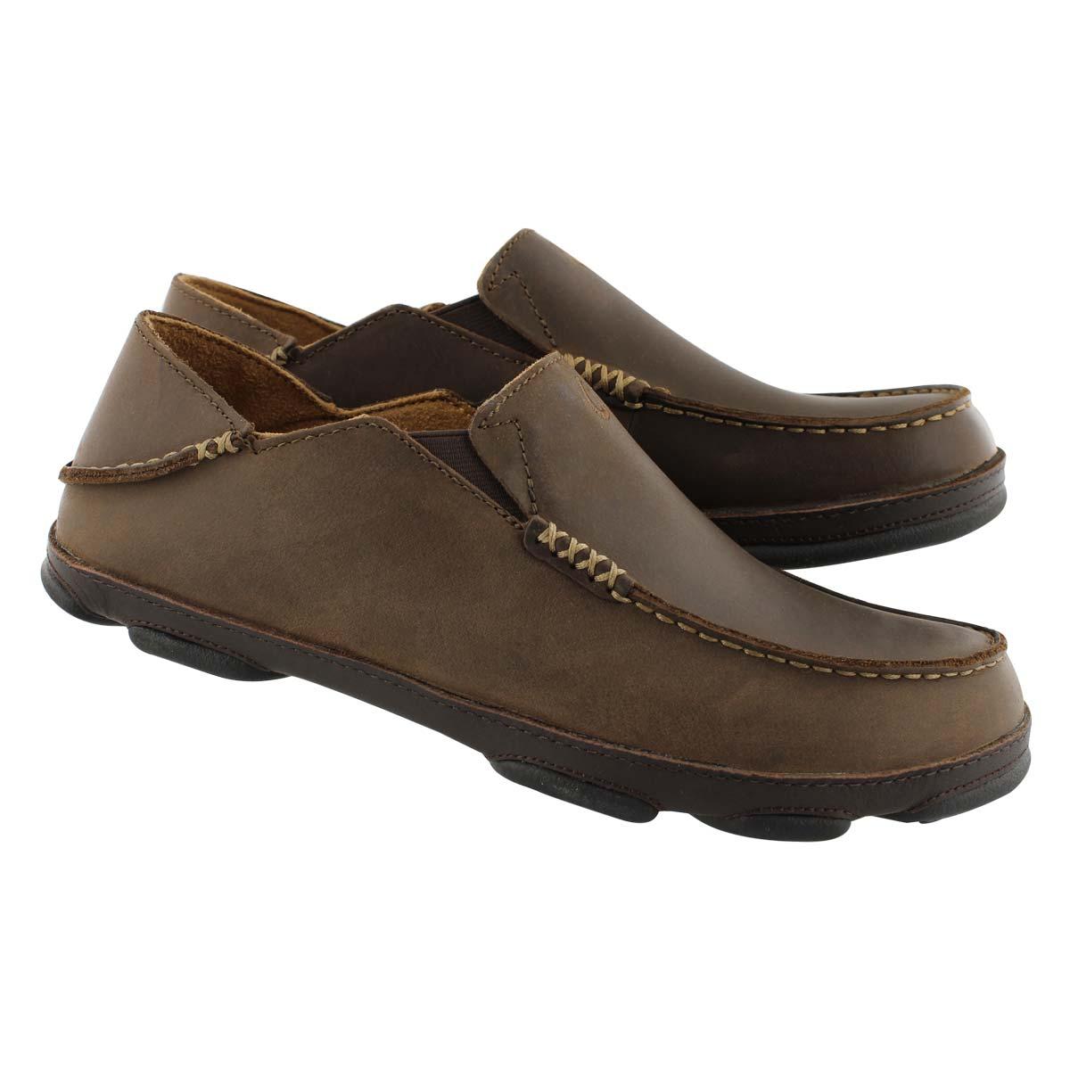Mns Moloa dk wd/java slip on casual shoe