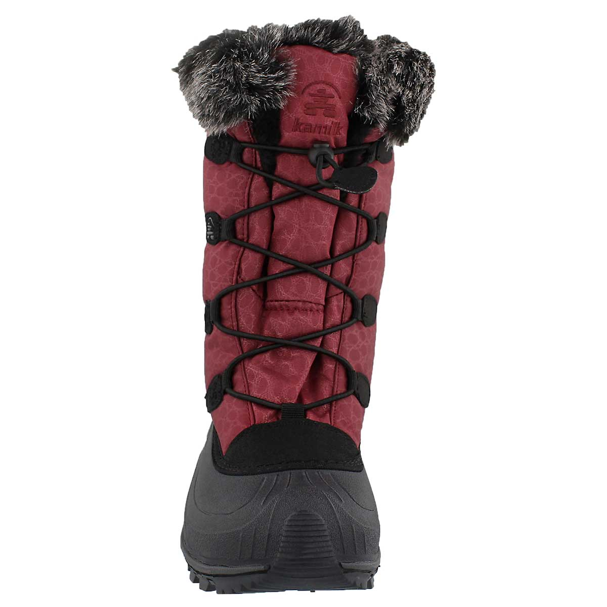 Lds Momentum burgundy winter boot