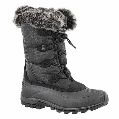 Lds Momentum black winter boot