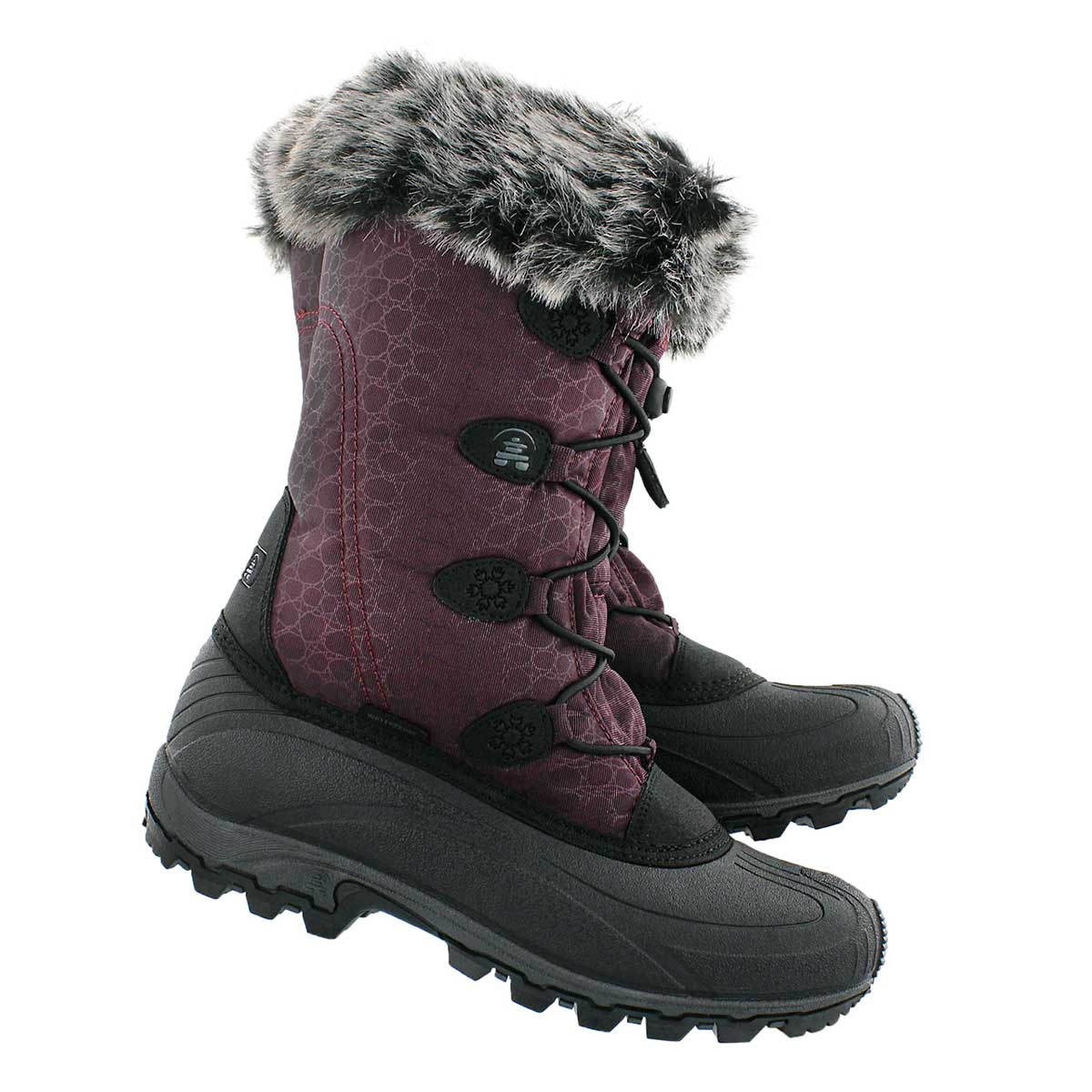 Lds Momentum burgundy winter boot