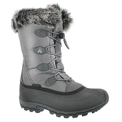 Kamik Women's MOMENTUM charcoal winter boots