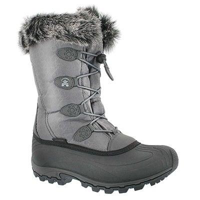Lds Momentum charcoal winter boot