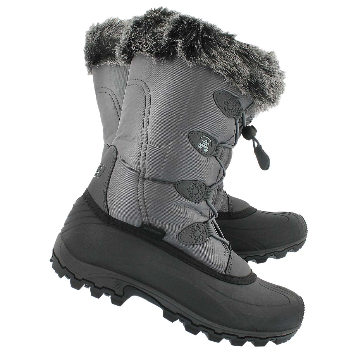 Lds Momentum charcoal winter boot
