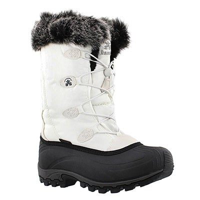 Kamik Women's MOMENTUM white winter boots