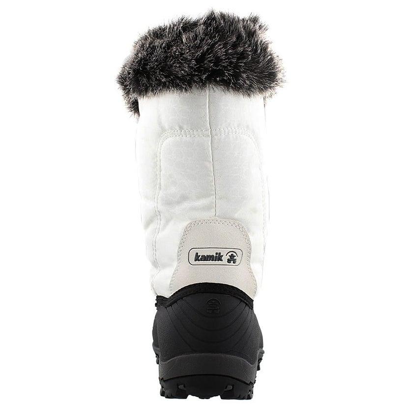 Lds Momentum white winter boot