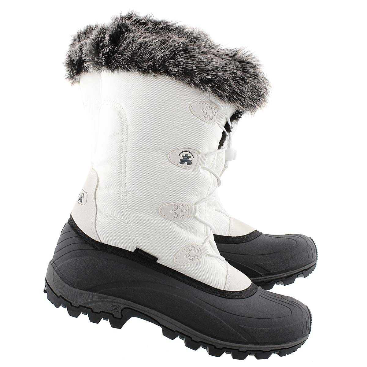 Lds Momentum white winter boot