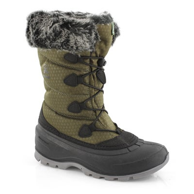 Lds Momentum 2 khaki wtpf winter boot