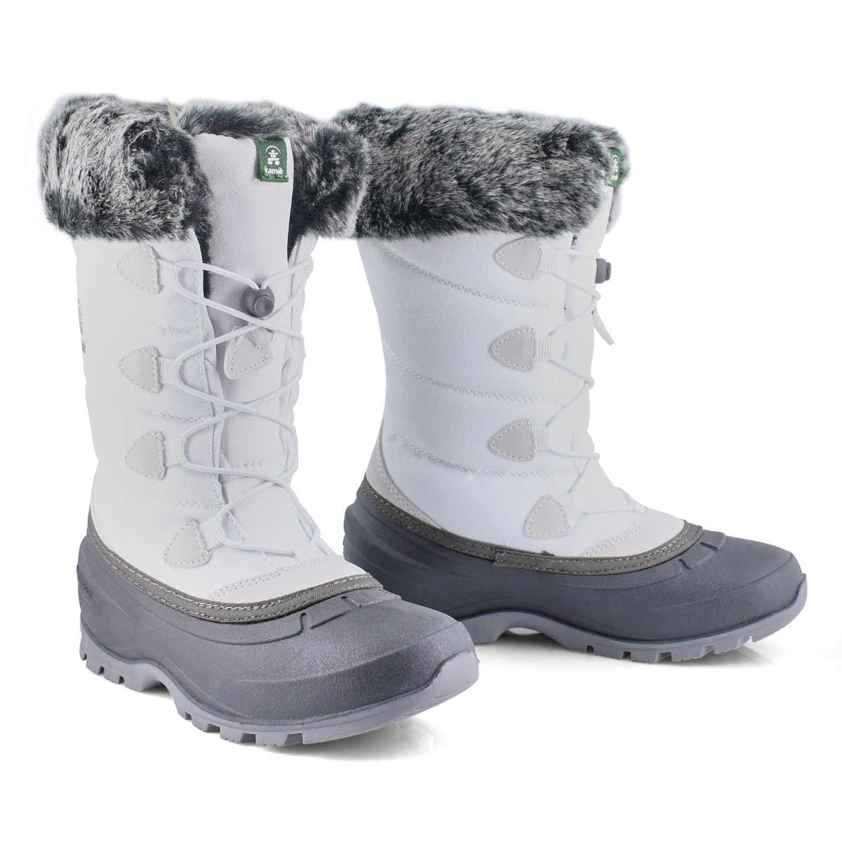 Lds Momentum2 white winter boot