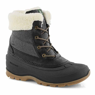 Lds Moonstone black wtpf winter boot