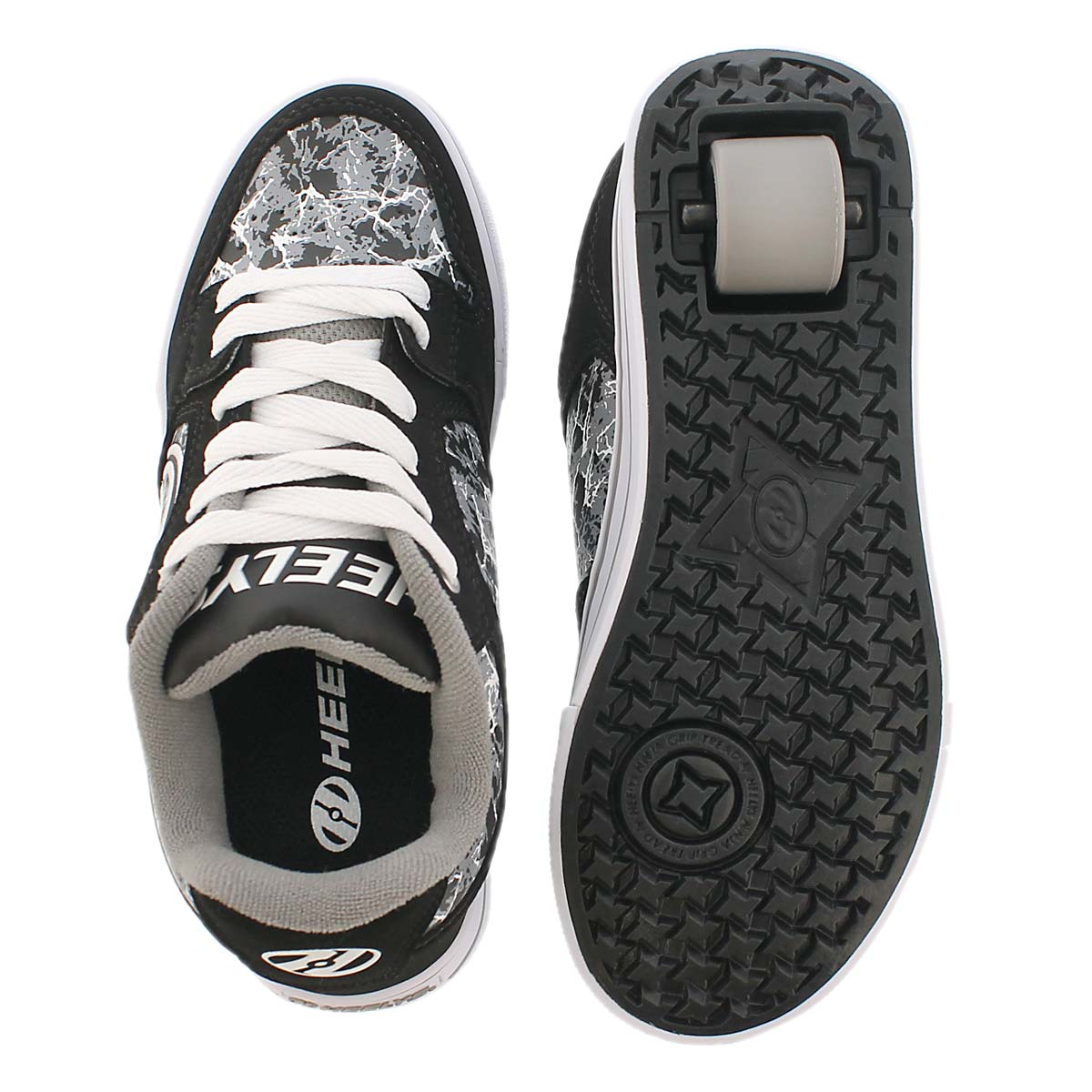 Bys Motion blk/grey skate sneaker