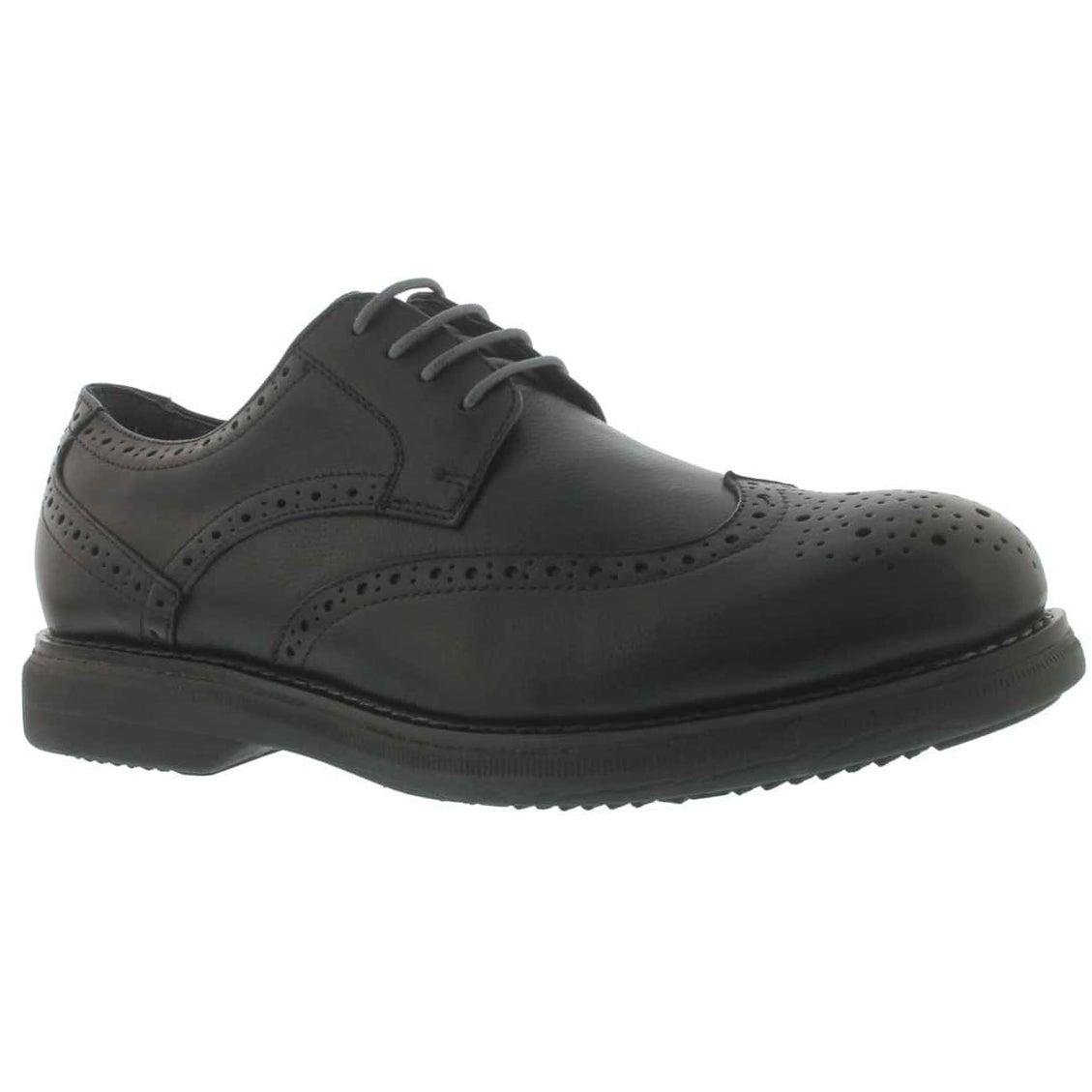 Mns Motion black 4-eye dress shoe