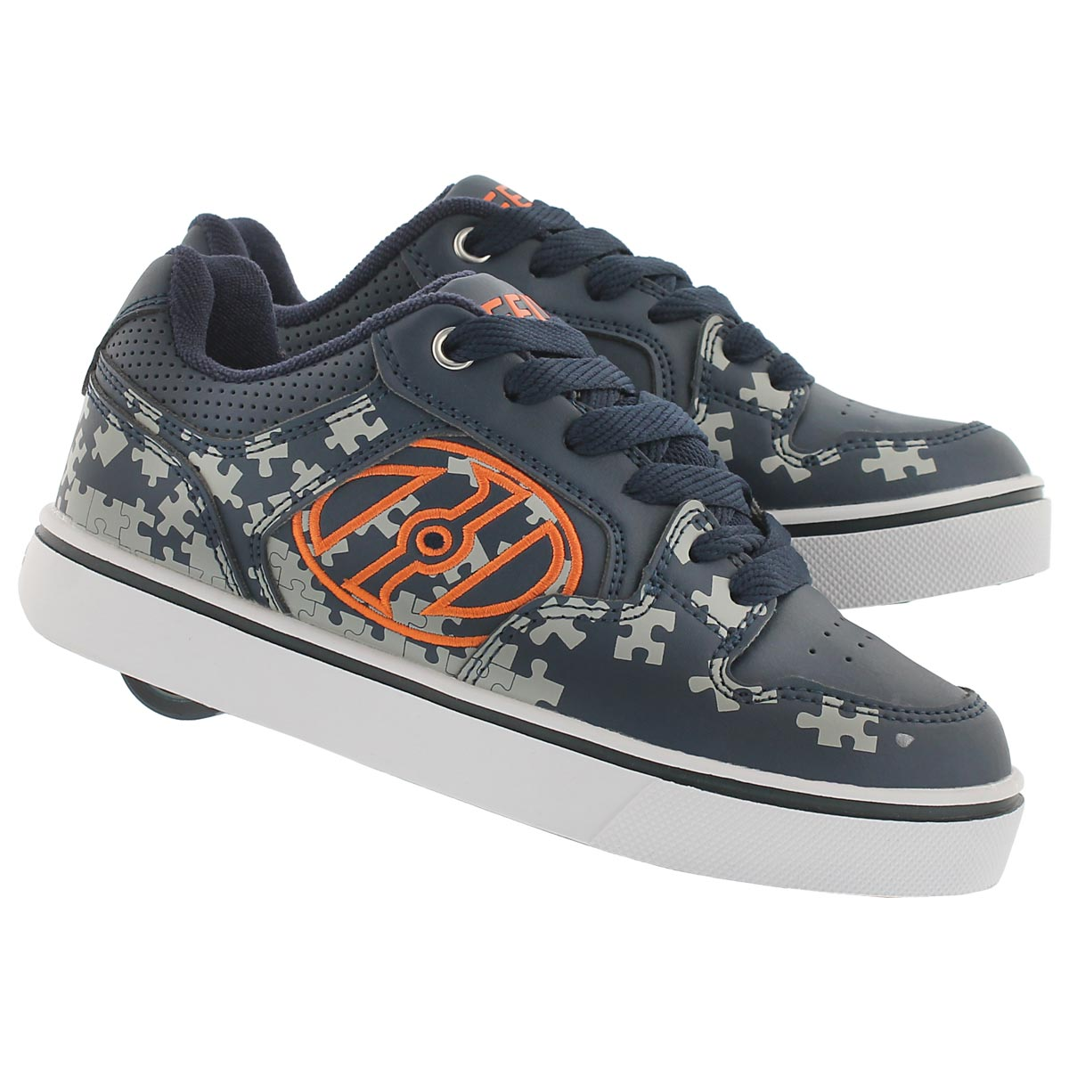 Bys Motion Plus blk/gry/or skate sneaker