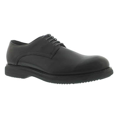 SoftMoc Men's MOTOR black 5-Eye dress oxfords