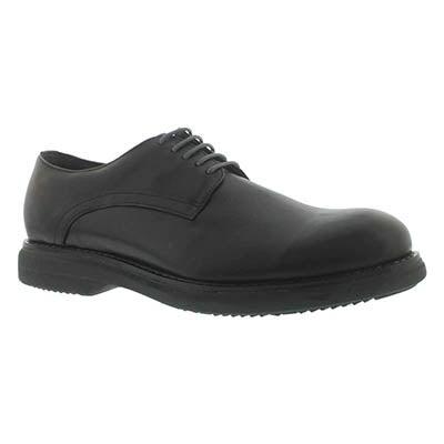 Mns Motor black 5-eye oxford dress shoe