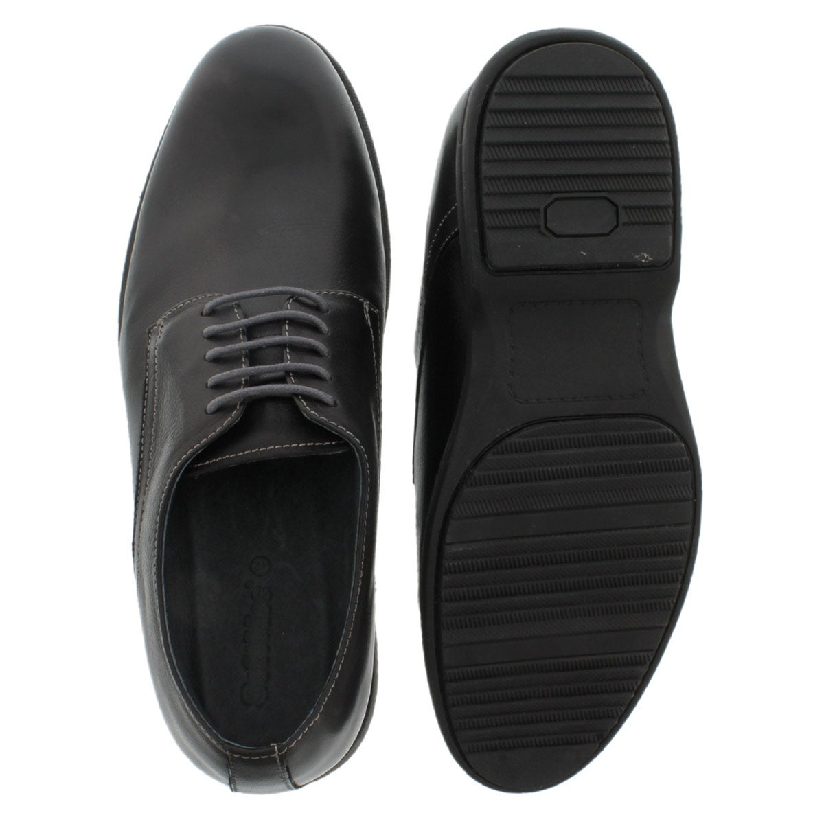 Mns Motor black 5-eye oxford dress shoe