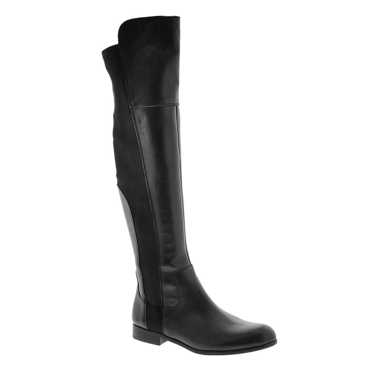 Lds Motor black over the knee boot
