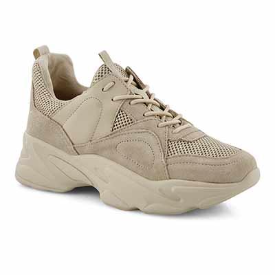 Lds Movement beige lace up sneaker