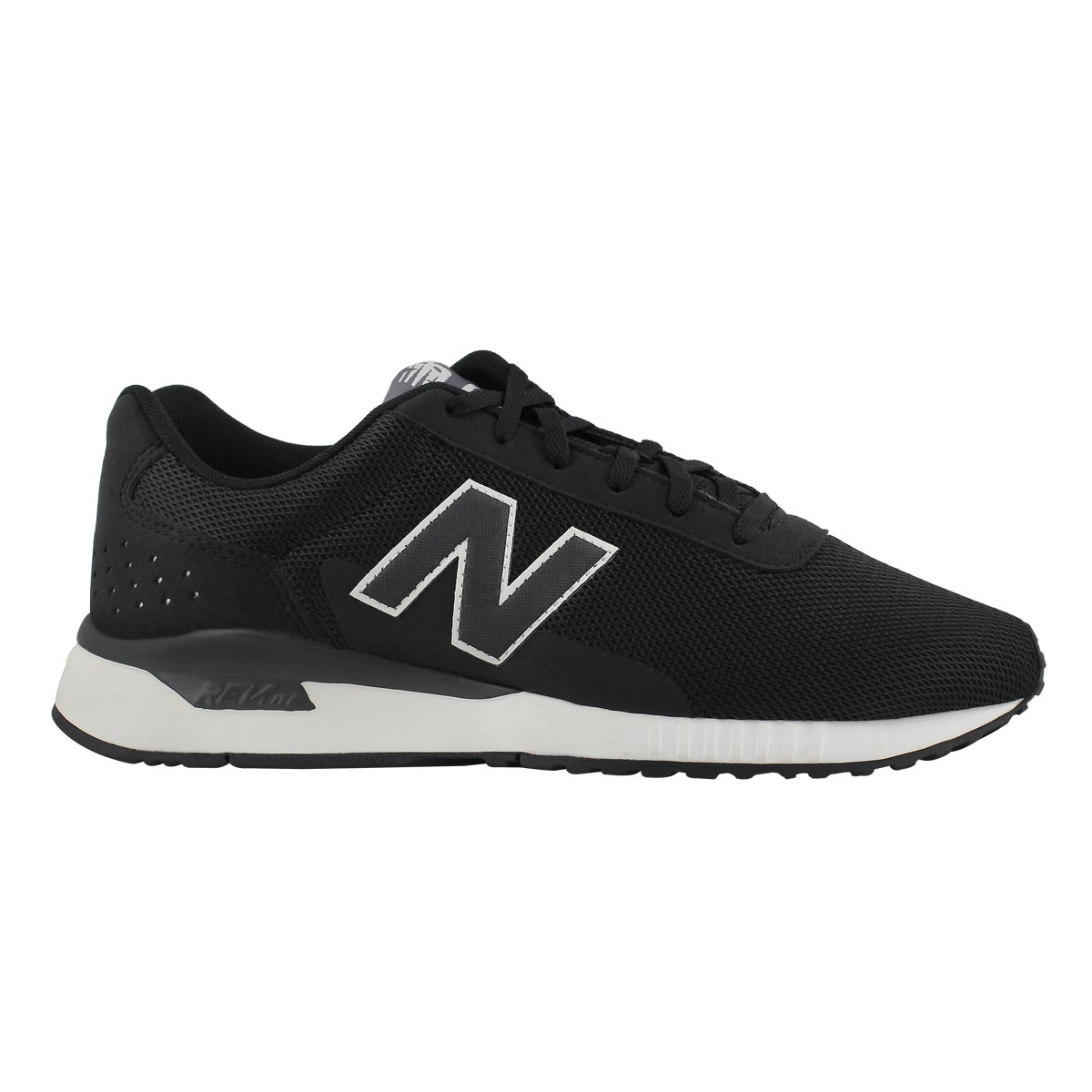 Mns 005 blk/wht lace up sneaker